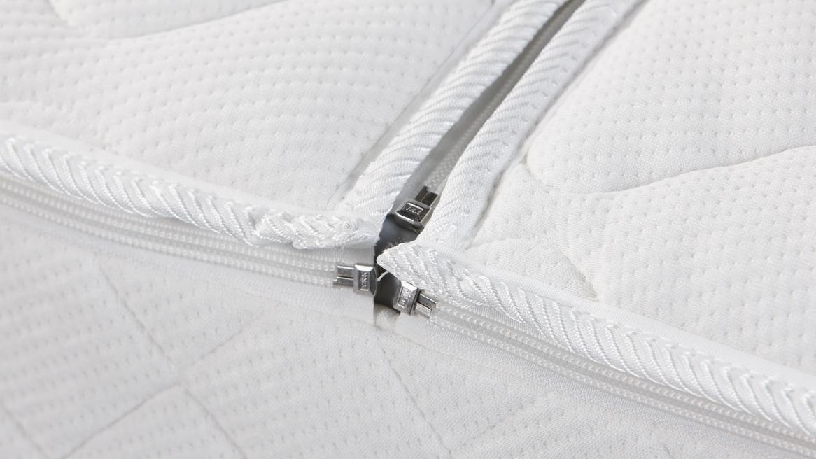 Luxus Klima Doppeltuch Wasserbett Bezug Detailansicht Mitte