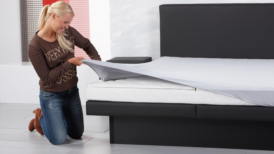Wasserbett Luxus Pro mit Bettlaken