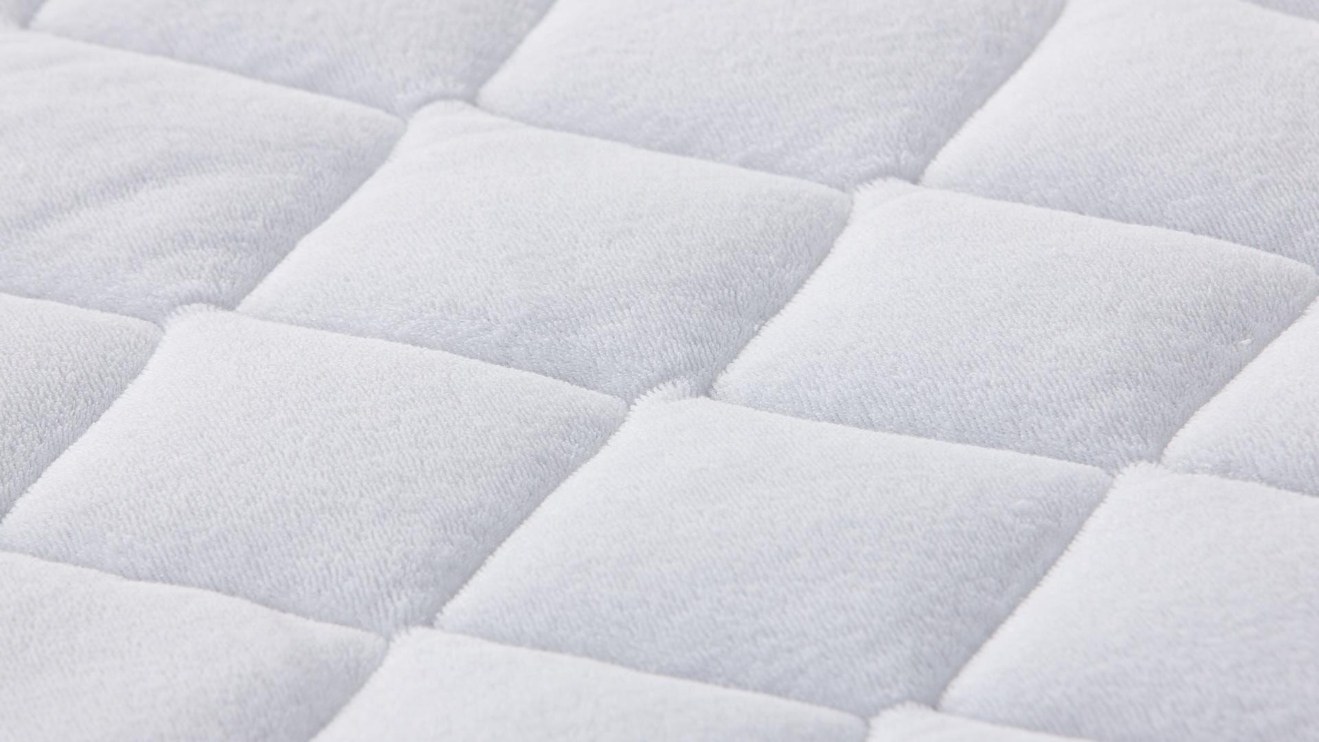 Wash-Cotton Stretch-Matratzenbezug close-up
