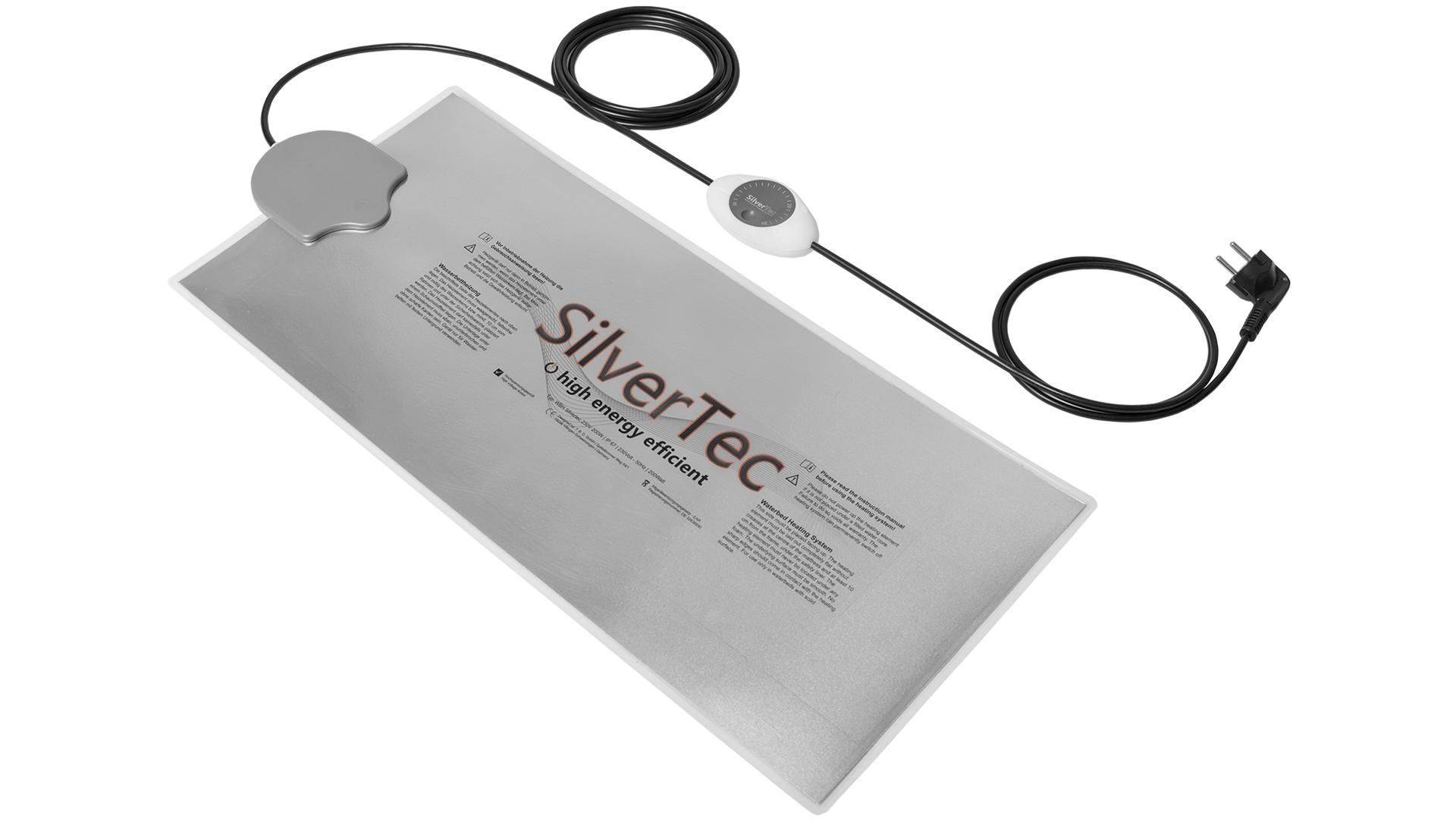 Carbon SilverTec Analog Thermostat Wasserbett Heizung