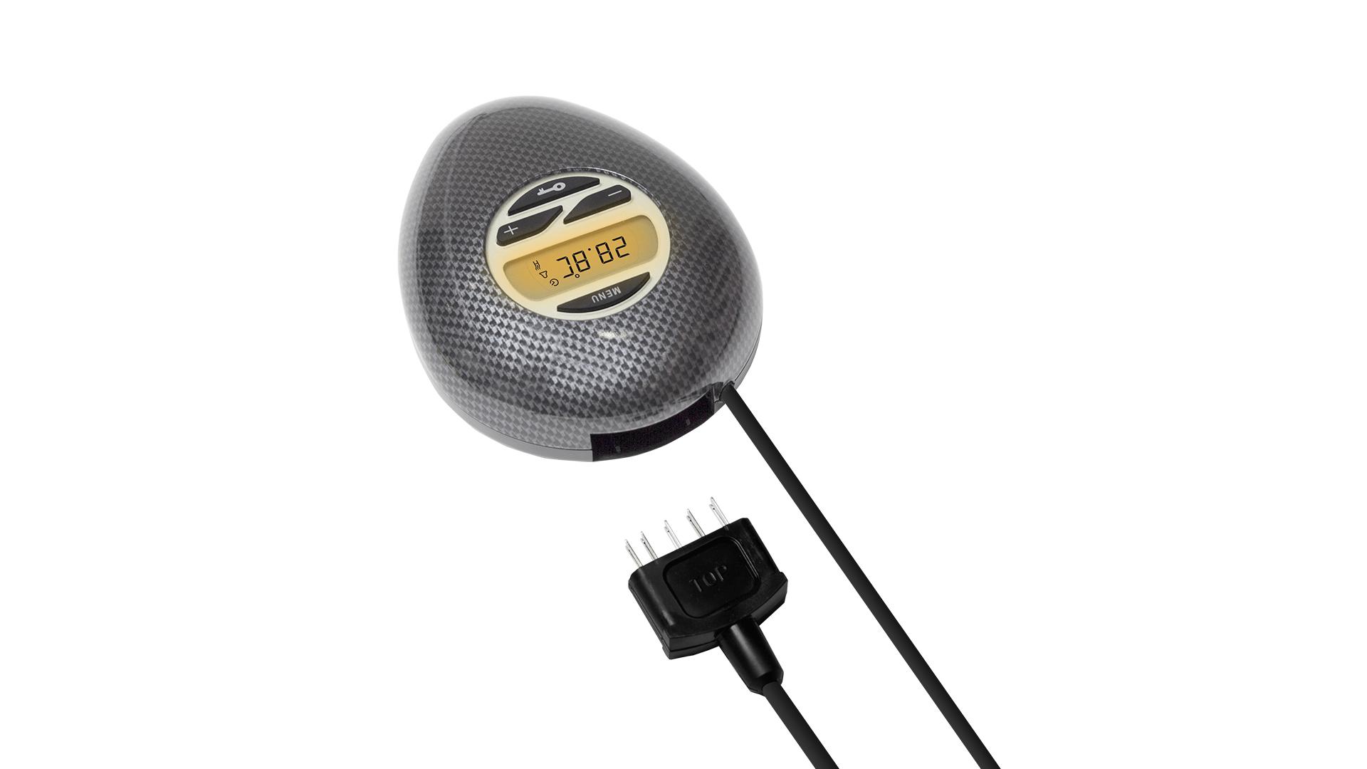 Wasserbettheizung Carbon IQ Digital Thermostat von Heizelement trennbar